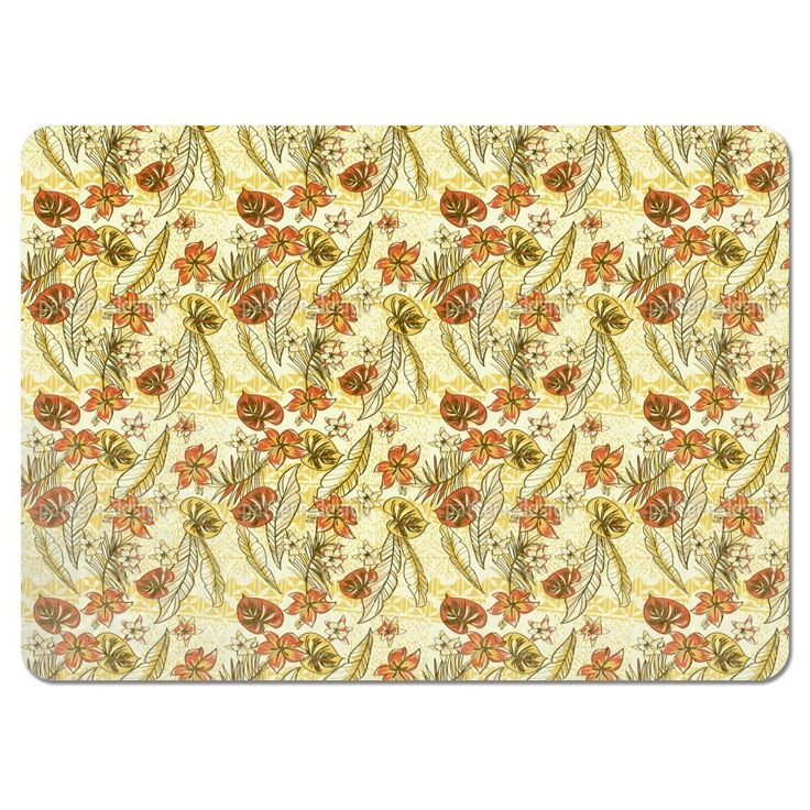 Uneekee Vintage Hawaii Placemats