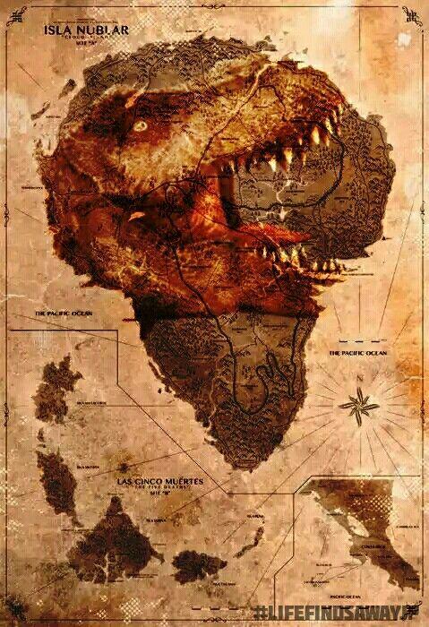 Jurassic World Isla Nublar Tyrannosaurus Rex   Jurassic ...