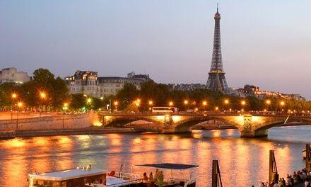 Paris : 1 à 3 nuits avec petit déjeuner et accès fitness, croisière en option, à Lodge In pour 2 personnes