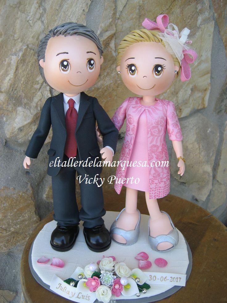Si quieres un regalo perfecto para la boda de esa persona querida, familiar o amigo, o para tu propia boda, puedes tener tu pareja de fofuc...