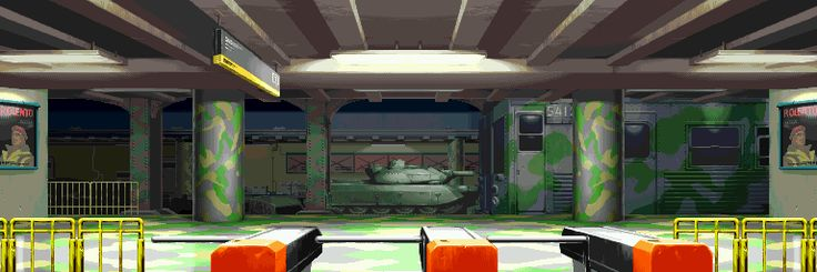 Street Fighter Alpha 3, Rolento stage.