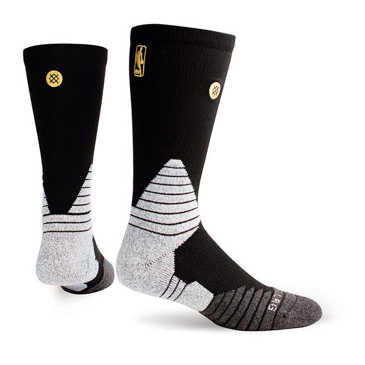 Stance | NBA Finals Crew (Black) | Men's Socks | Official Stance.com