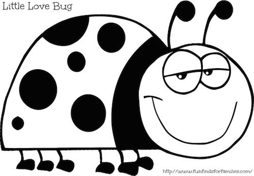 bug coloring pages ladybug - photo#28