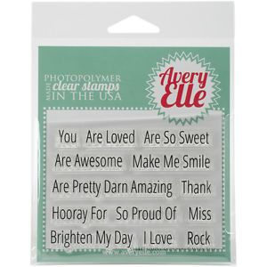 Avery-Elle-Clear-Stamp-Set-4-X3-Simply-Said-You