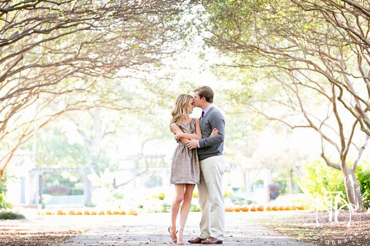 Clare & Blaine   Engagement Photos at Dallas Arboretum & White Rock Lake