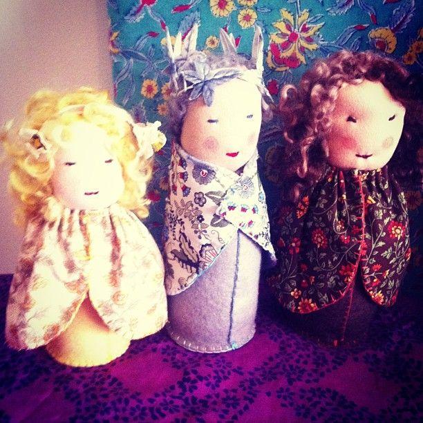 King winter, Steiner Waldorf storytelling doll / puppet theatre / folk craft  Imogen McCarthy    www.saintsenara.com  Imogen McCarthy  Saint Senara the Mermaid | Steiner Crafts, Storytelling  Arts Therapy