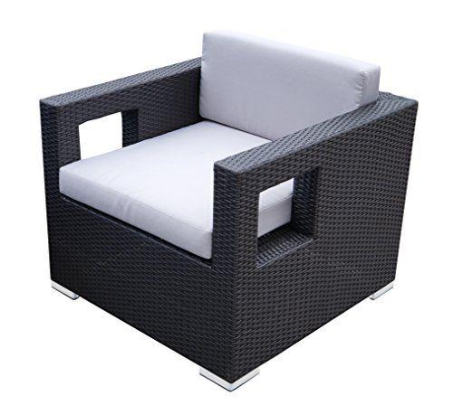 Rattan Lounge Set - Polyrattan Gartenmöbel Garnitur Sofa – kantiges Design – breite Armlehne - schwarz - 10 cm Kissenauflage - rostfreies Aluminiumgestell - Sitzgruppe - hervorragende Verarbeitung – top Qualität - preisgünstig (Sessel, schwarz) Jetzt bestellen unter: https://moebel.ladendirekt.de/garten/gartenmoebel/loungemoebel-garten/?uid=e1eaad14-5618-5e45-99b5-b87f6949168e&utm_source=pinterest&utm_medium=pin&utm_campaign=boards #garnituren #sofas #loungemoebelgarten #garten #wohnzimmer…
