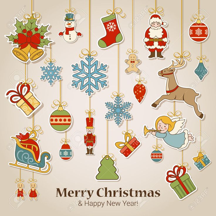 48577863-Merry-Christmas-and-Happy-New-Year-sticker-label-decorations--Stock-Photo.jpg (1300×1300)