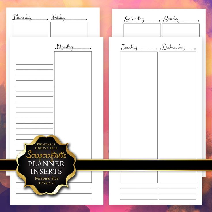 17 Best images about Planner Printables on Pinterest ...