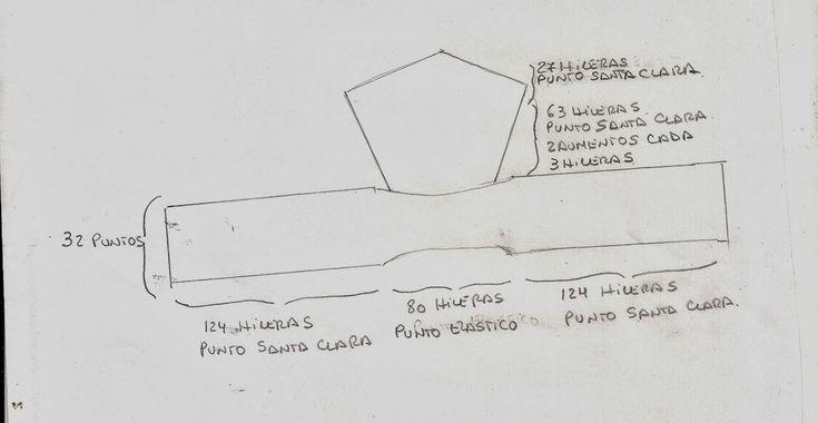 EL ATELIER DEL TEJIDO: Bufanda con capucha Terminada - Patron