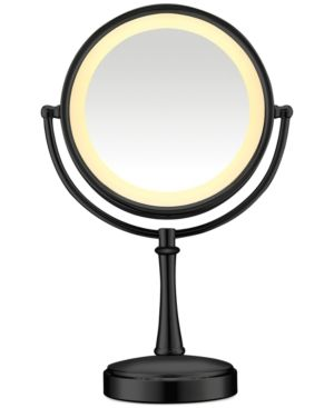 Conair Touch Control Double-Sided Lighted Makeup Mirror - Black