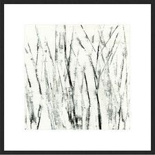 Birches I Abstract Framed Print