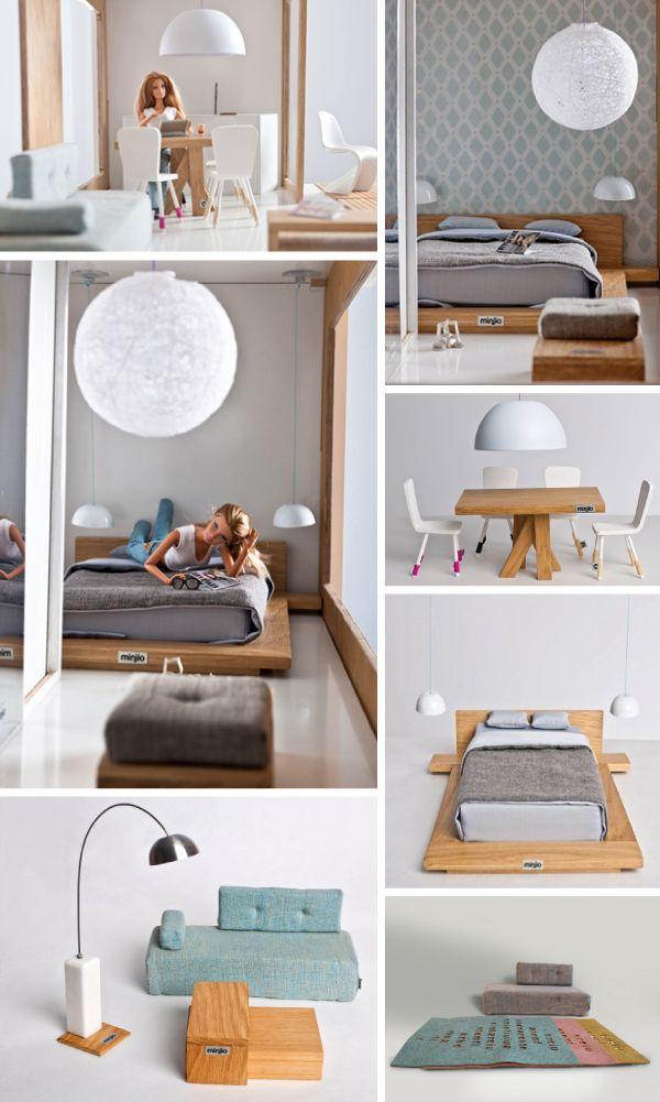 Maison de poupées tendance ! J'adore ! www.mylittledeal.fr - s'achète auprès de la marque Polonaise Miniio : www.miniio.com/