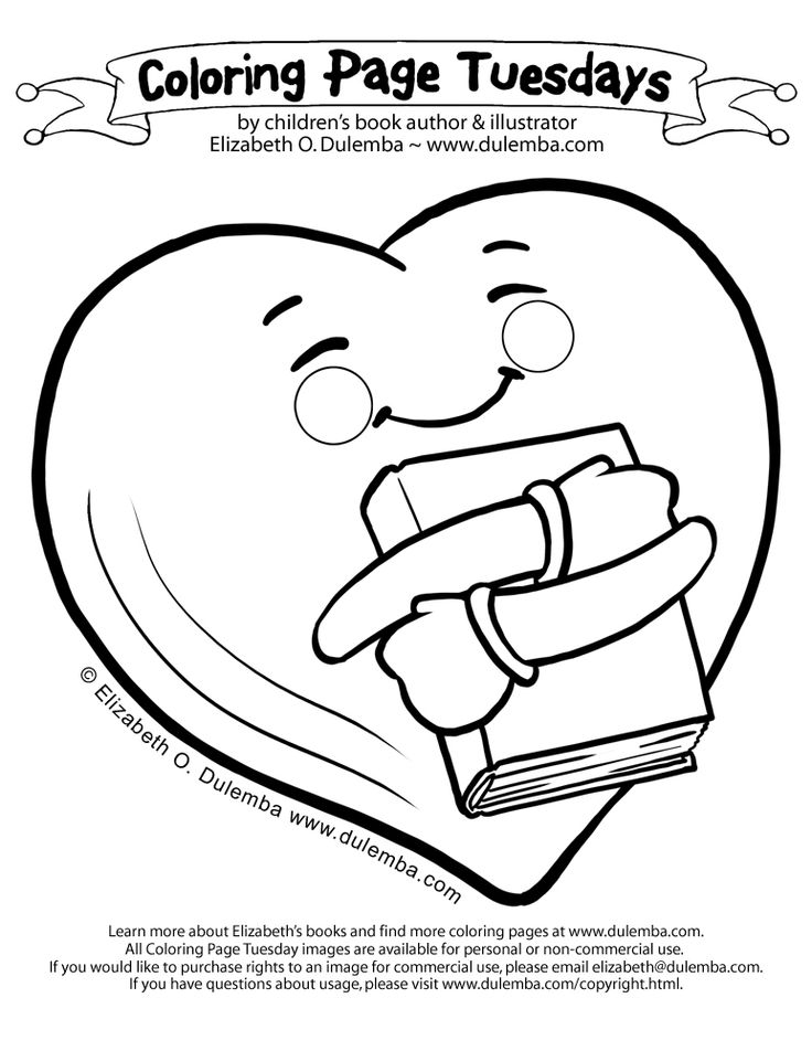 dulemba: Coloring Page Tuesday - Book Love! #hugging #heartpattern #freecoloringpage #booklove #readinglove http://dulemba.blogspot.com/2014/02/coloring-page-tuesday-book-love.html #valentinesday #ilovereading #freeprintables