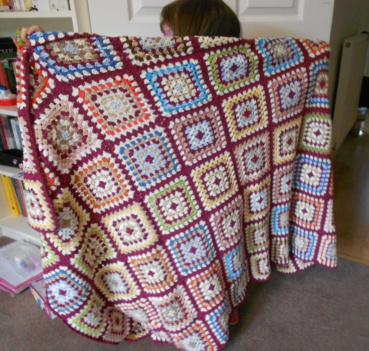 118 Best Crochet Big Granny Squares Images On Pinterest