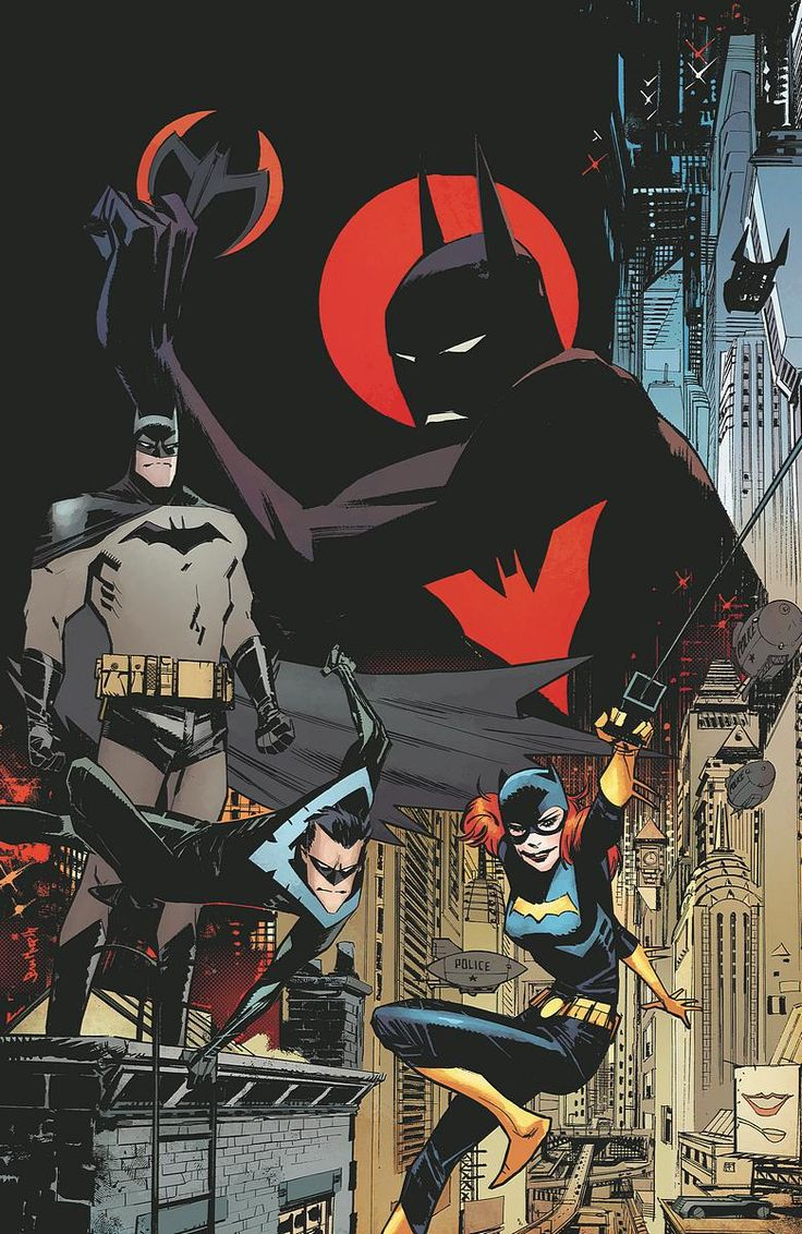 BATMAN BEYOND UNIVERSE #1 $3.99 DIGITAL FIRST The new series begins here with all-new creative teams and all-new adventure!  Now a freshman at Gotham University, Terry McGinnis's role as Batman threatens his education and his life as a teenager. And when the Mayor is murdered, Terry's life is thrown into even greater turmoil! Meanwhile, the Justice League must stop Superman when his powers rage out of control!