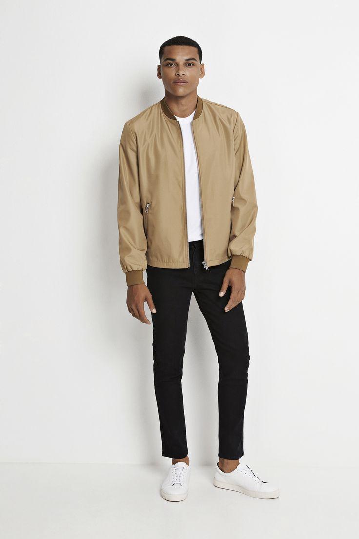 Real Jacket in Khaki. Shop online and in stores now! #wearecph #ss17 #copenhagen #streetwear #mensfashion #menswear #streetstyle #ootd