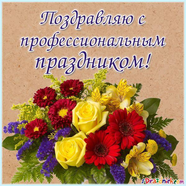 Поздравление коллегам с профессиональным праздниками