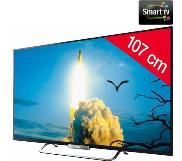 sony kdl 42w650a t l viseur led smart tv prix promo. Black Bedroom Furniture Sets. Home Design Ideas