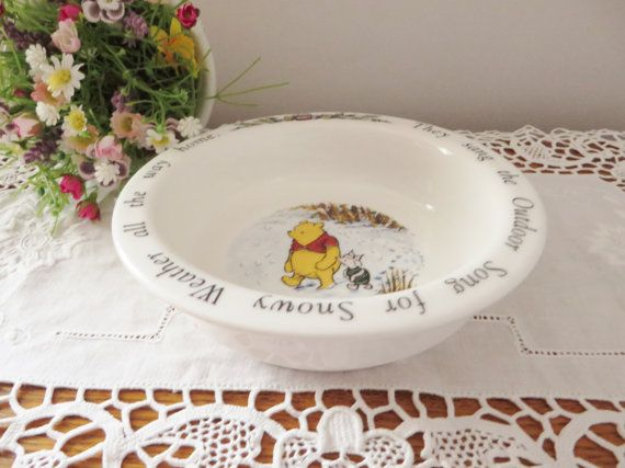 Royal Doulton early 1990's  vintage Winnie by MaddyVintageHostess