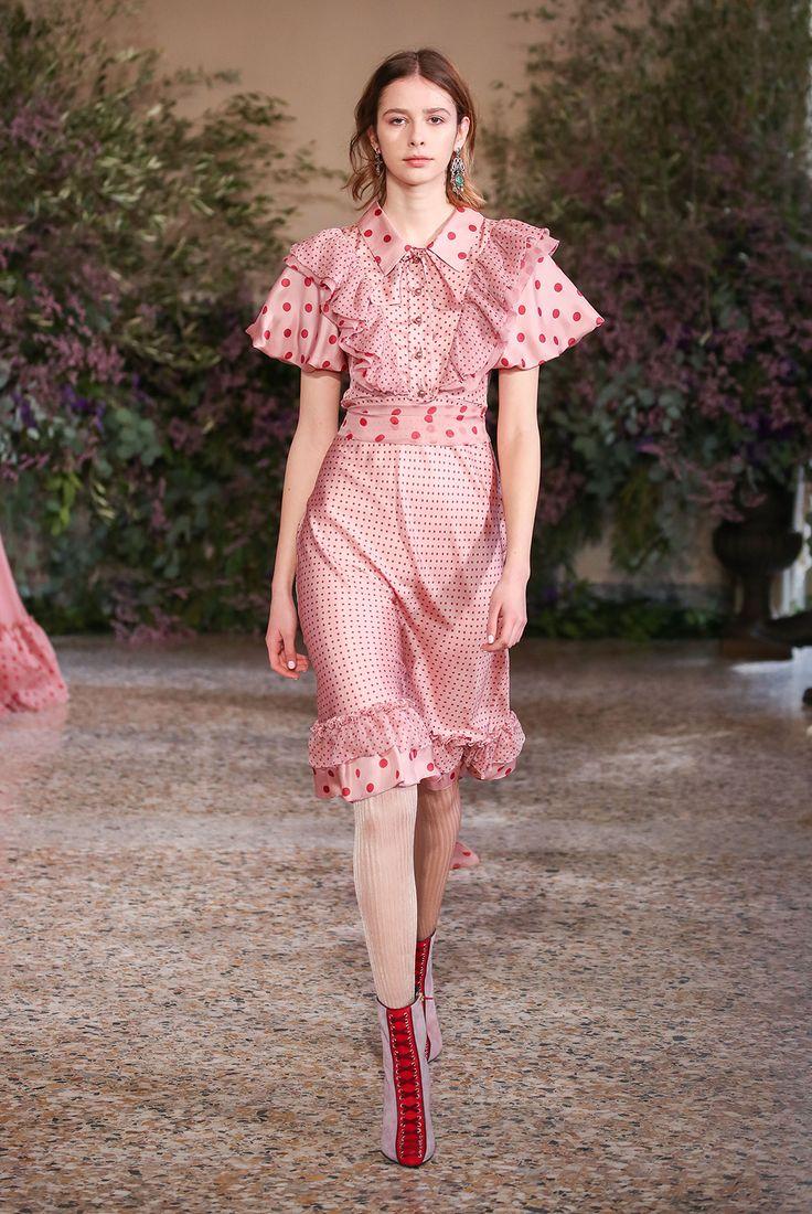 Polkadots Printed Dress – Luisa Beccaria   Runway fashion, Fashion outfits, Fashion