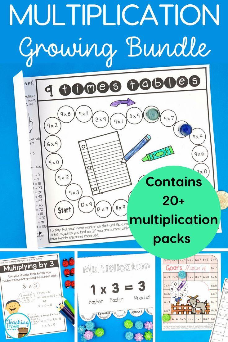 the 25 best multiplication activities ideas on pinterest multiplication teaching. Black Bedroom Furniture Sets. Home Design Ideas
