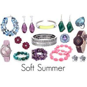 Soft Summer jewelry