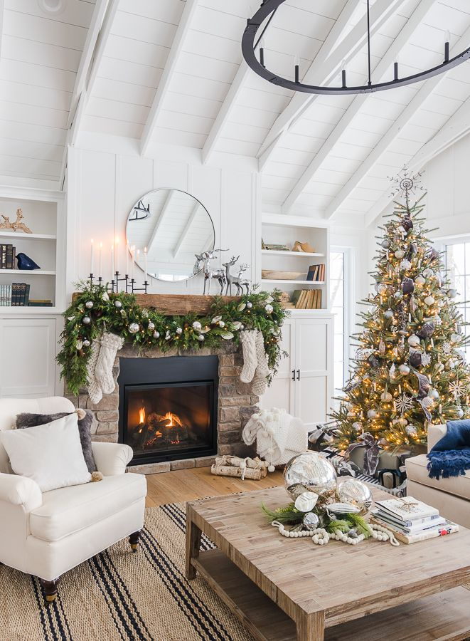 Silver And Grey Classic Christmas Tour Indoor Christmas