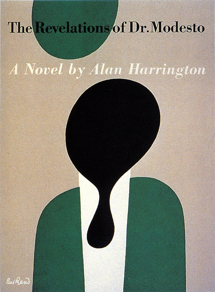 Design by Paul Rand, it says. I don't know if it's accurate but I'll stick with it for now.