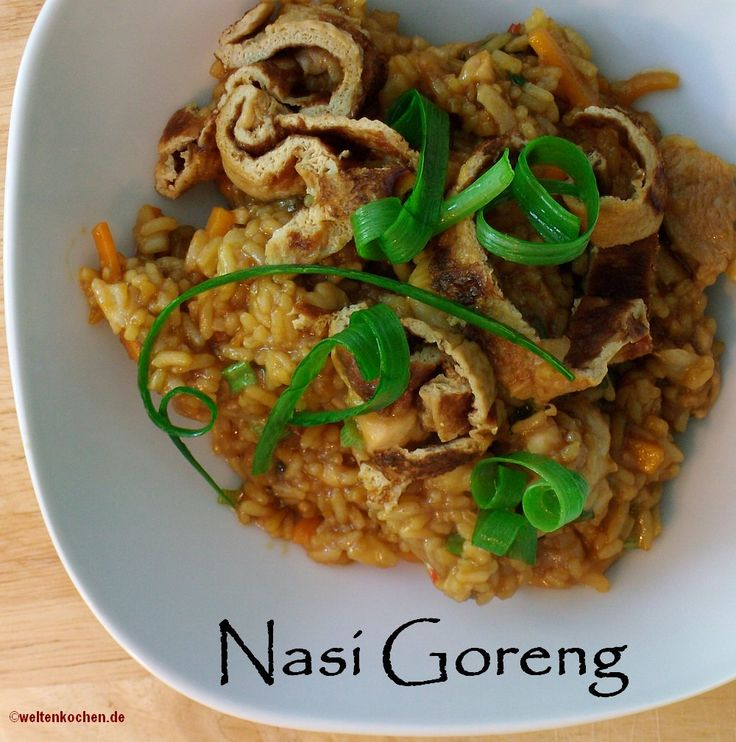 indonesian food nasi goreng, its yummy