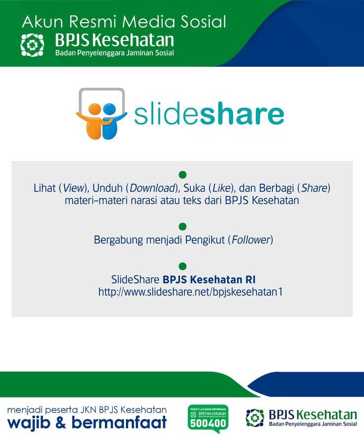 Media Sosial BPJS Kesehatan, SlideShare