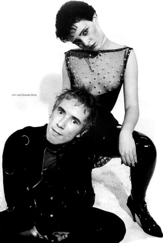 John and Siouxsie Sioux