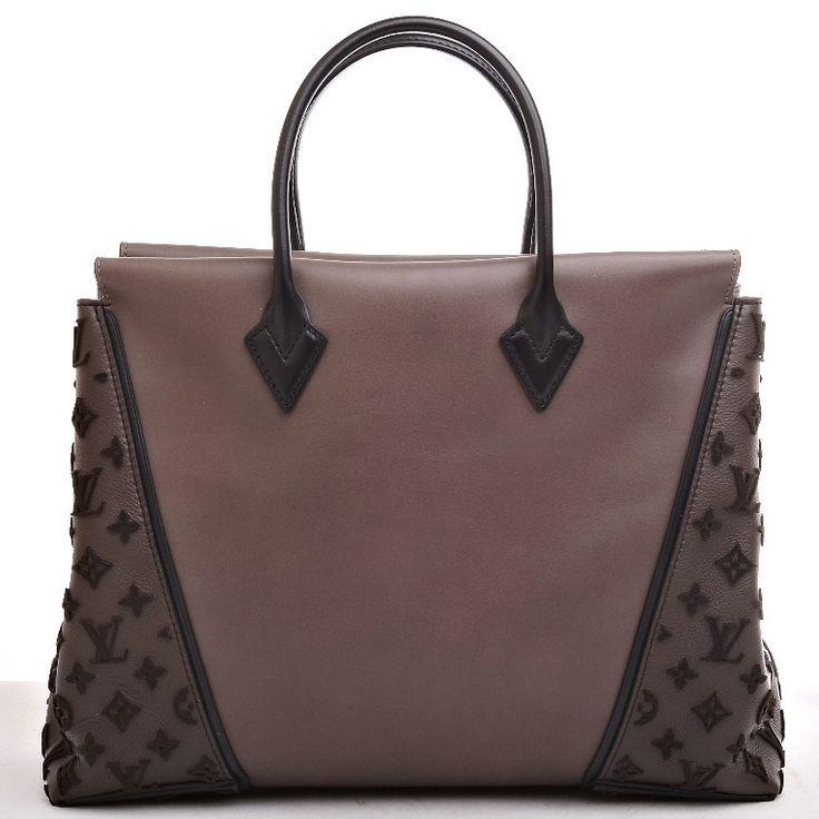 Louis Vuitton Gris Monogram Veau Cachemire W GM image 4