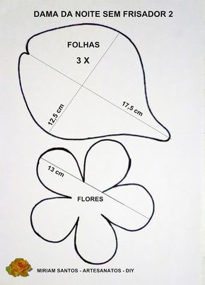 Fazendo Artes: FLOR DAMA DA NOITE EM EVA SEM FRISADOR - DIY