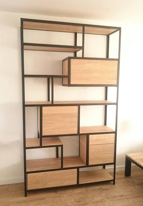 Steel And Wood Cabinet Wood Cabinets Wood Wardrobe Iron Furniture