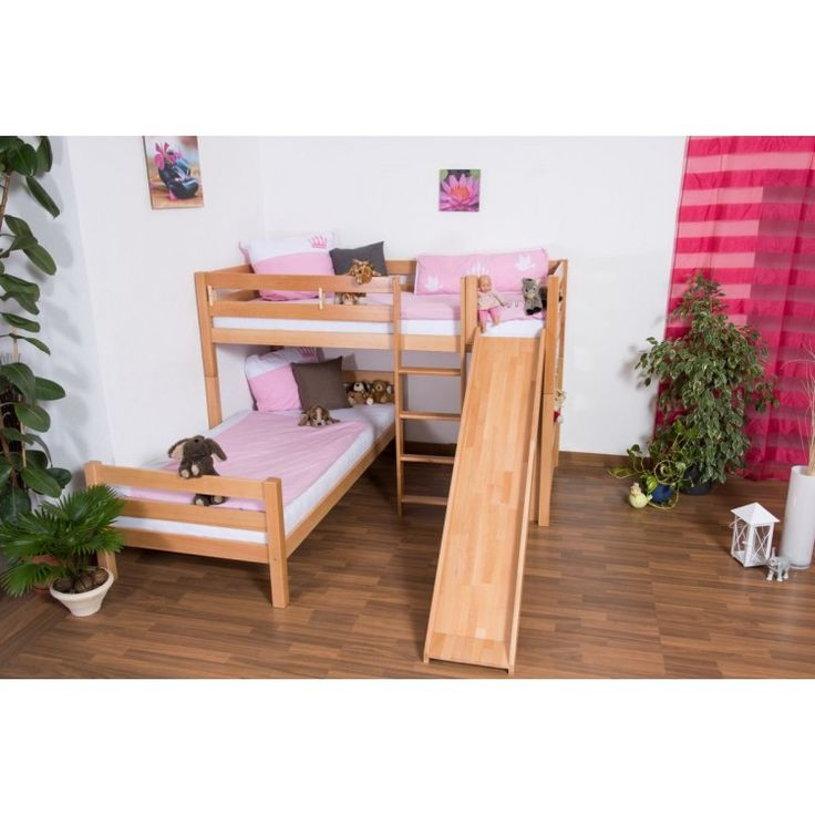Quad L Shaped Bunk Bed Designs