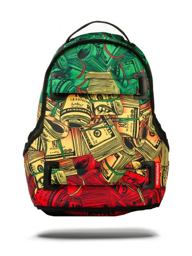 LION PRIDE MONEY SKATE BAG