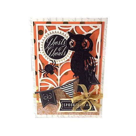 Anna Griffin® Spiders & Specters Cut and Emboss Die Set