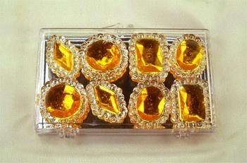 Orange Edible Jewels