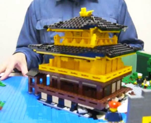 Les impressionnants LEGO Pop-up Books de Talapz