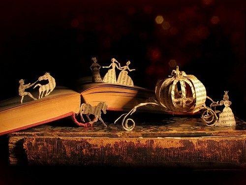 Fairytale paper art