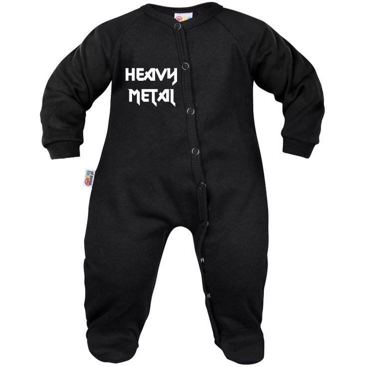 Pyjama bébé : HEAVY METAL