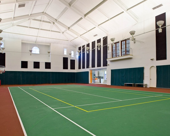 18 best fitness room images on pinterest for Indoor basketball court design
