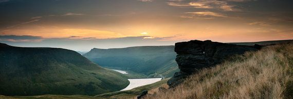 The Sun Kissed Moor  England Peak District by AdamClarkPhotography, £45.00
