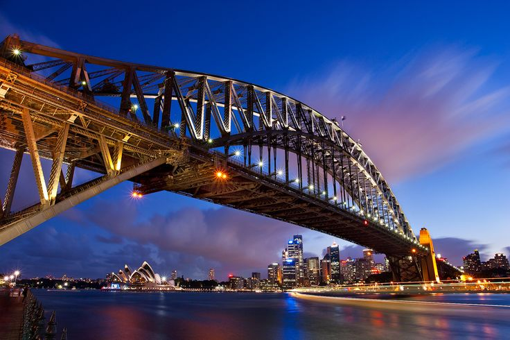 Sydney Harbour Bridge Climb (Australia). Not very lose to nature but I still want to do it.