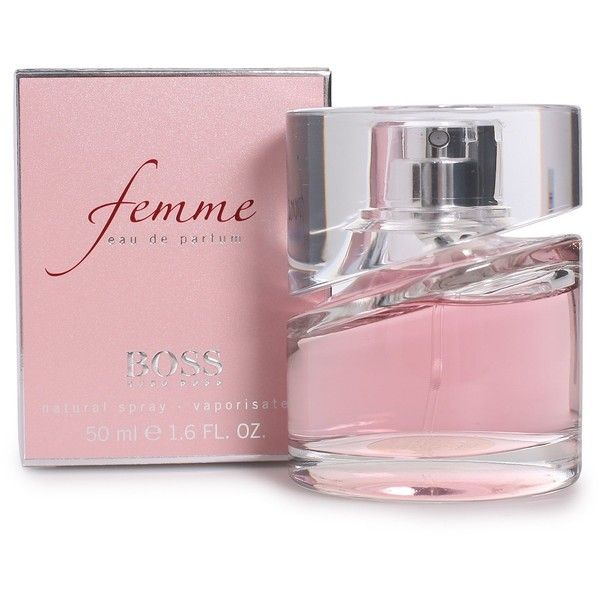 Boss By Hugo Boss Perfume Boss Femme Edp 50 Ml ($110) ❤ liked on Polyvore