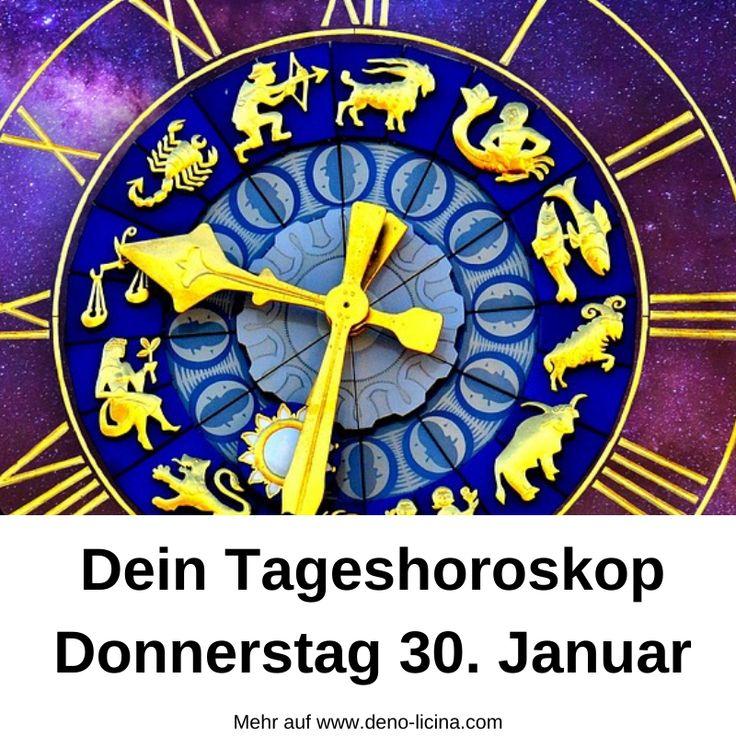 Dein Tageshoroskop für Donnerstag den 30. Dezember