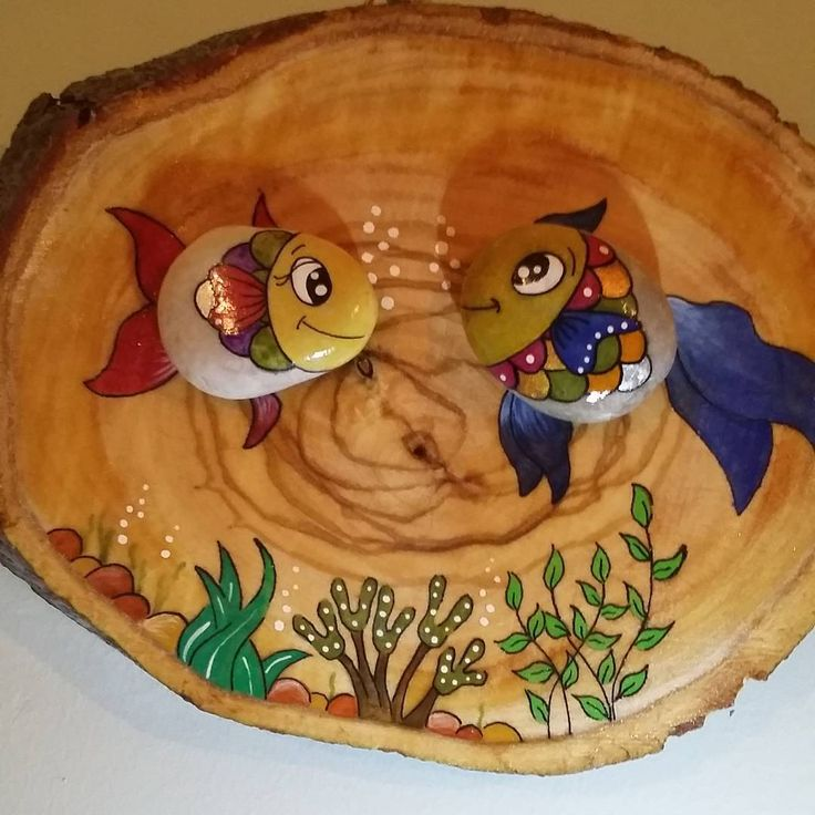 """""""Kütük üzerine balıklar..."""""""