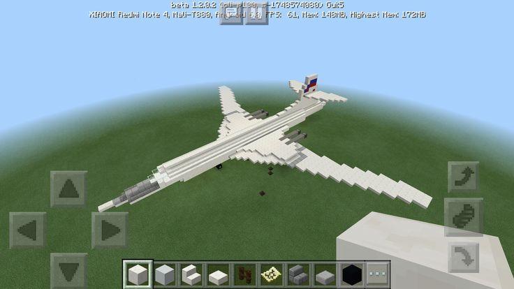 Tu-160 Blackjack in Minecraft