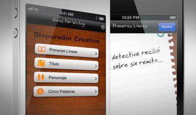 Aplicación iDeas para Escribir para iOS